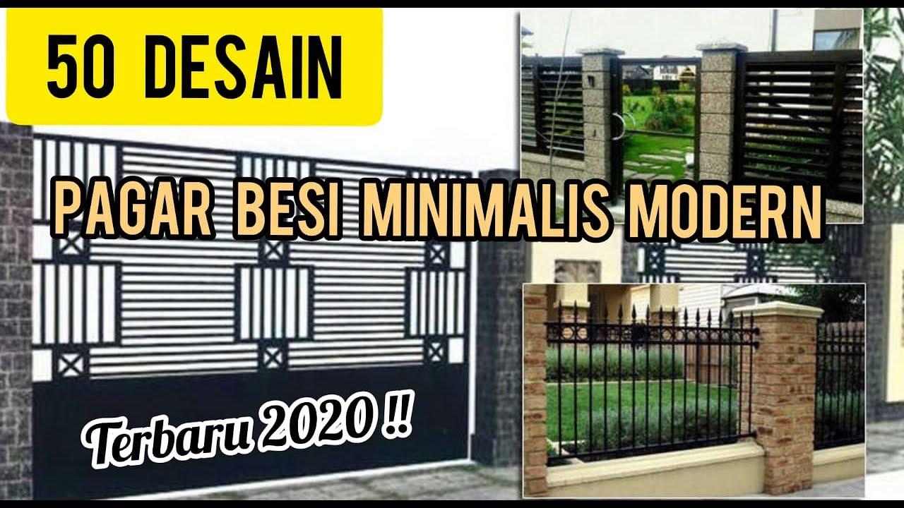 50 DESAIN TERBARU 2020!! PAGAR MINIMALIS MODERN - YouTube