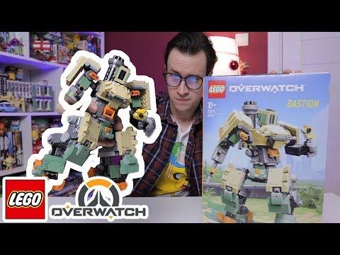 LEGO Overwatch Бастион - не покупай пока не посмотришь