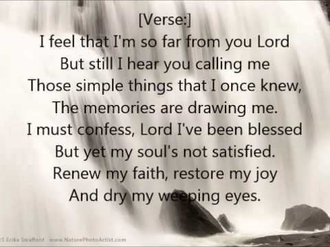 """""""Take Me Back"""" Lyrics and Video by Andrae Crouch & The Disciples"""