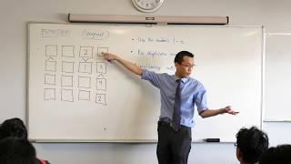 Futoshiki (fun puzzle with inequalities)