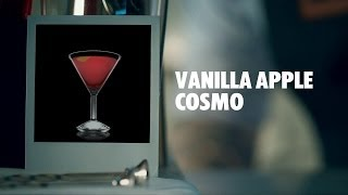 VANILLA APPLE COSMO DRINK RECIPE - HOW TO MIX