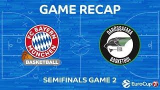 Highlights: FC Bayern Munich - Darussafaka Istanbul