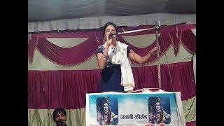 जवाबी कीर्तन साधना सिंह रायबरेली भक्ती गीत jawabi kirtan no.443-Bhakti Geet