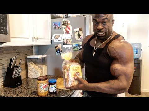 FULL DAY OF EATING (4,000+ Calories) | Kali Muscle