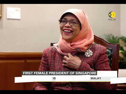 Halimah Yacob set to be first woman president of Singapore