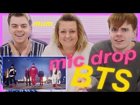 Our Mum's reaction to BTS MIC Drop - Steve Aoki Remix MV | (방탄소년단)
