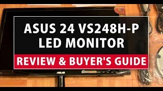 ASUS 24 VS248H-P LED Monitor Review & Buyer