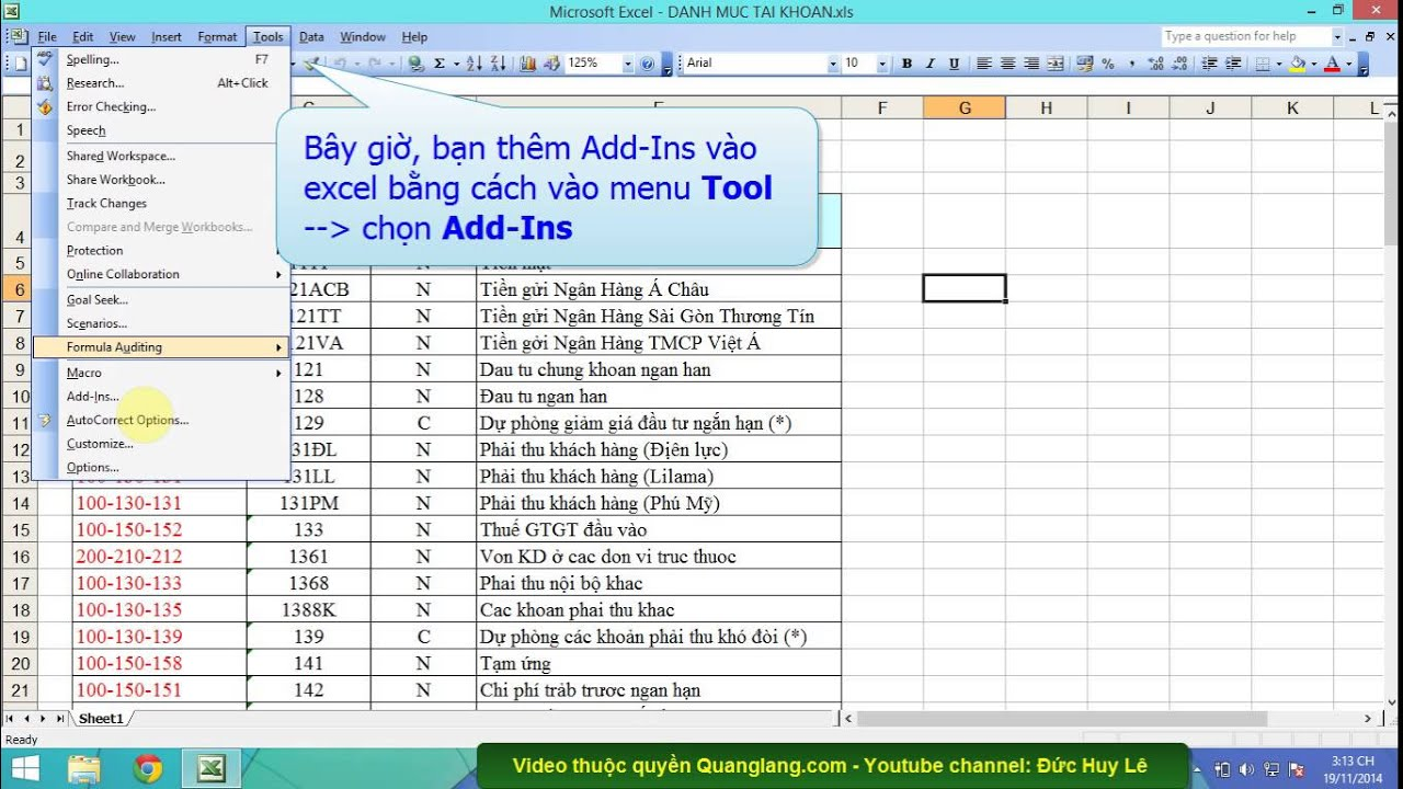 Cách in trang chẵn lẻ trong Excel 2003