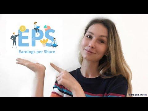 EPS (Earnings per Share) прибыль на акцию. Что это такое?