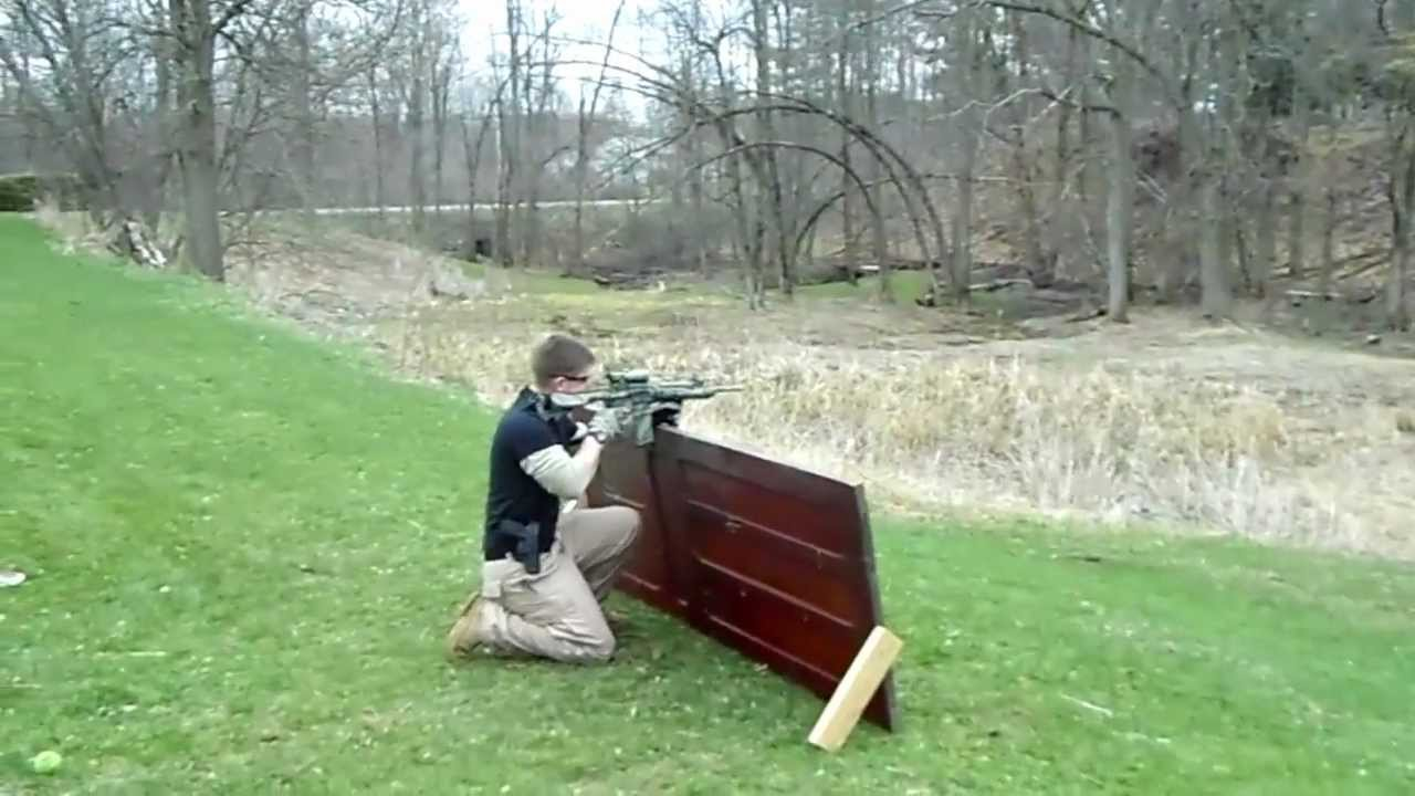 Homemade Tactical Course - Colin