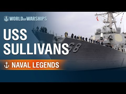 [World of Warships] Naval Legends: USS The Sullivans