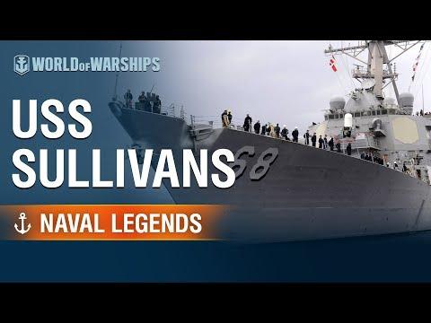 [World of Warships] Naval Legends: USS The Sullivans - YouTube