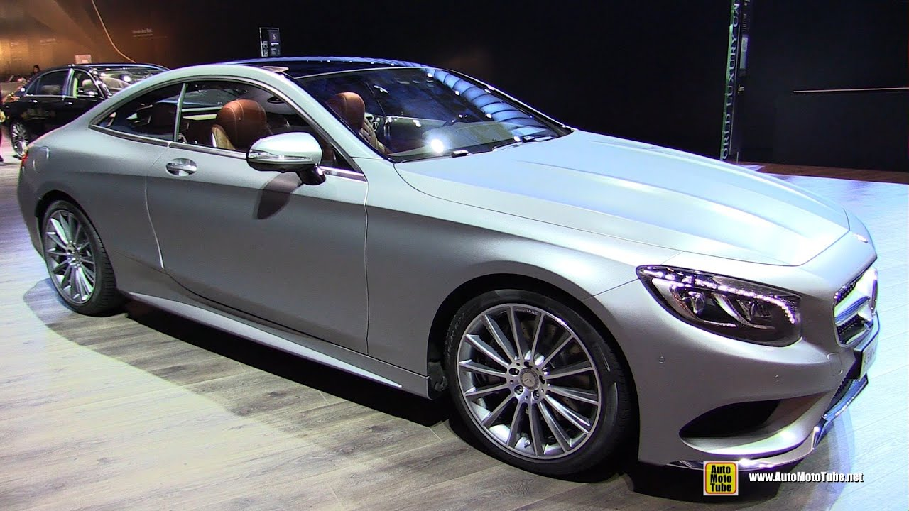 2016 mercedes s500 4matic coupe exterior and interior walkaround 2015 frankfurt motor show. Black Bedroom Furniture Sets. Home Design Ideas