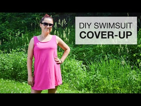8537c4f1ae8cf DIY Swimsuit Cover-Up Tutorial - Free Pattern - YouTube