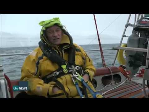 Global warming allows UK Arctic ice record