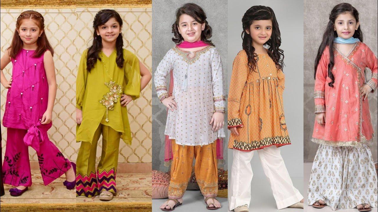 [VIDEO] - Trending baby dress design/by kushi maqbool ideas 6