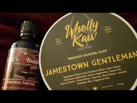 Unusual match ups...Wholly Kaw Jamestown Gentlemen and Catie's Bubbles Tonsorial Parlour