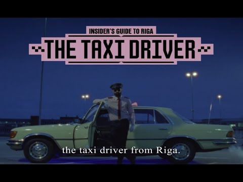 Go on a Journey With a Taxi Driver from Riga