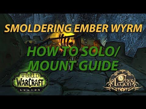 Smoldering Ember Wyrm Mount Guide - Nightbane Timed Run Karazhan Solo Guide