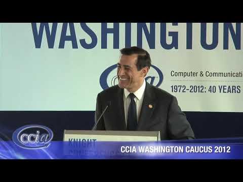 Representative Darrell Issa CCIA Washington Caucus 2012