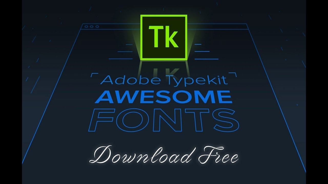 How to download typekit fonts free | Hindi Tutorial || Video 1