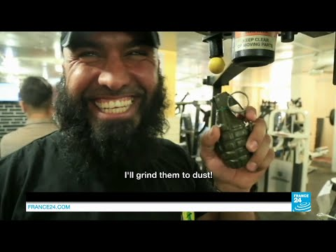 "Who is Abu Azrael aka ""the Iraqi Rambo"" and the ""Daesh Killer"" fighting IS jihadists?"