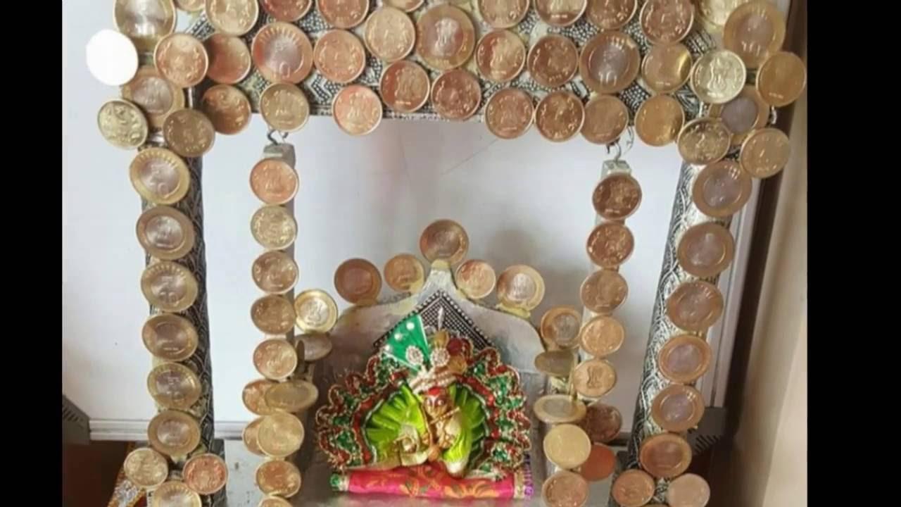 Jhula Swing Decoration Ideas For Our Deity Bal Gopal Kanha