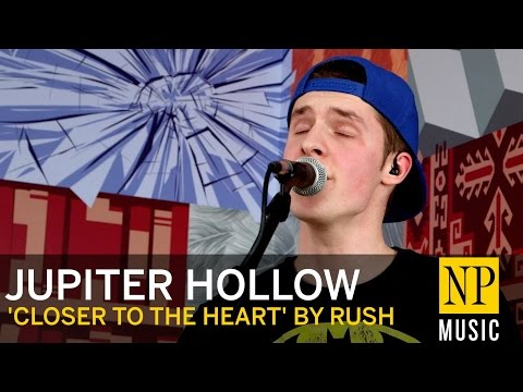 Jupiter Hollow cover 'Closer To The Heart' by Rush, in the NP Music studio