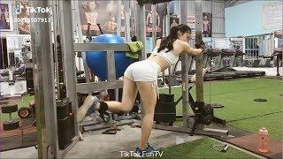 Ngắm Body gái xinh tập Gym, động lực tập GYM
