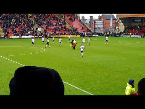 Crewe vs port vale, last minute equalizer