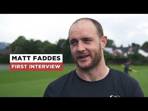 Matt Faddes first interview   Welcome to Ulster