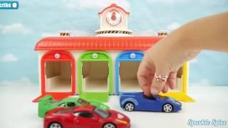 Tayo the Little Bus + Paw Patrol CARS Garage Toys 디즈니카 꼬마버스 타요 퍼피 구조대 플레이 찰흙 꼬마버스 타요
