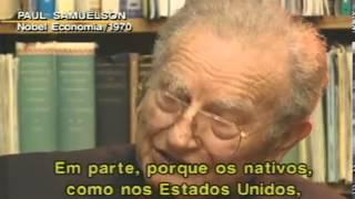 Sem Fronteiras - Paul Samuelson venceu o Prêmio Nobel de Economia em 1970