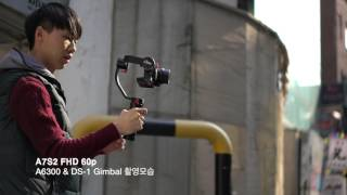Sony a6300 + DS-1Gimbal