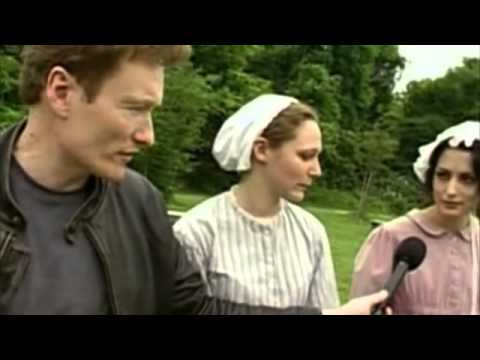 Conan O'Brien 'Plays Old fashioned Baseball '1864
