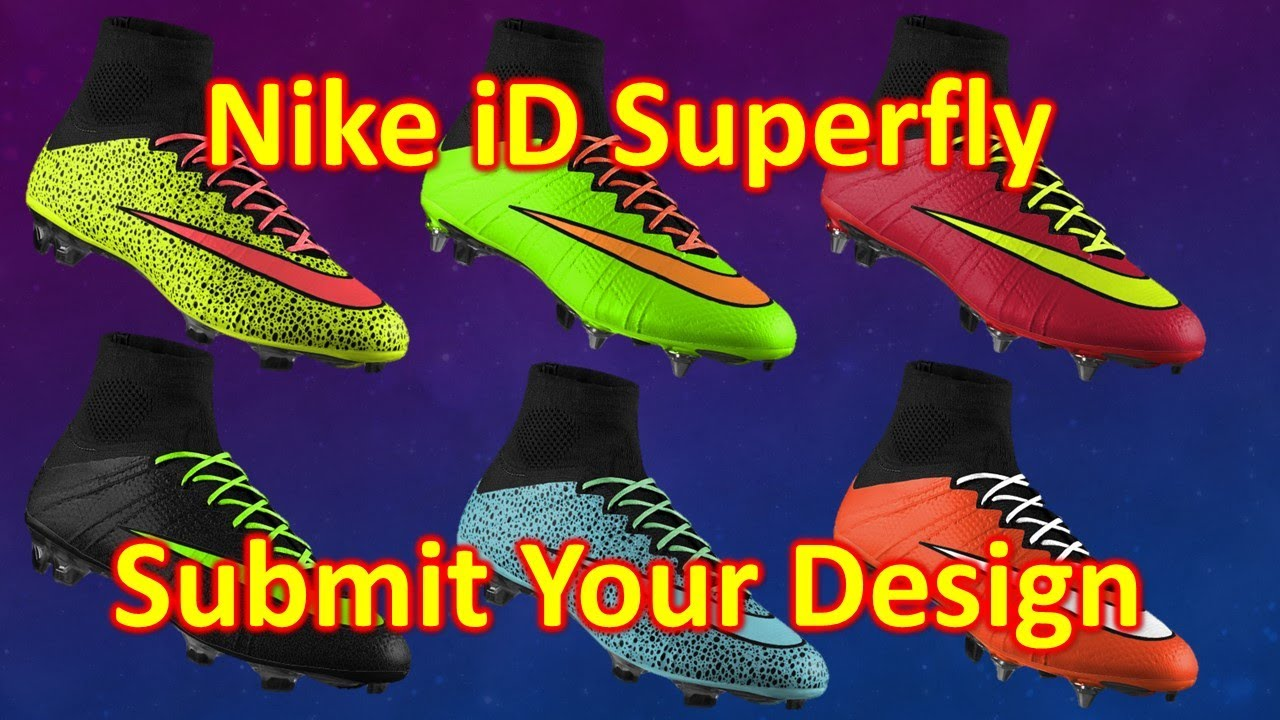 6495657bb29 Nike iD Mercurial Superfly 4 - Help Me Pick a Design - YouTube