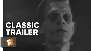 Frankenstein Official Trailer #1 - Boris Karloff Movie (1931) HD