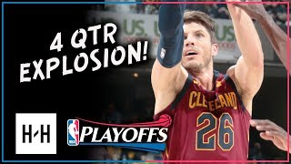 Kyle Korver Full Game 4 Highlights Cavs vs Pacers 2018 Playoffs - 18 Pts, CLUTCH!