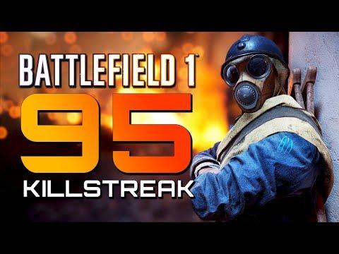 Battlefield 1: 95 Killstreak! They Shall Not Pass DLC (PS4 PRO Multiplayer Gameplay)