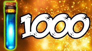 "ULTIMATE ""1000"" LIQUID DIVINIUM GOBBLE GUM OPENING - BLACK OPS 3 ZOMBIES GOBBLEGUM (BO3 Zombies)"