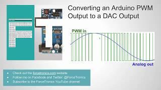 Converting an Arduino PWM Output to a DAC Output