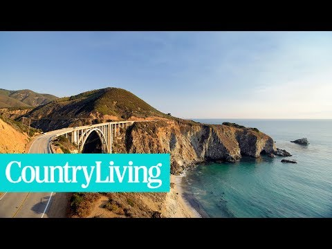 You Can See This Gorgeous Stretch of Pacific Coast by Train for Under $100 | Country Living