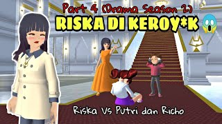 Putri Yang Menderita (Part 4 Season 2 Drama Sakura School Simulator)