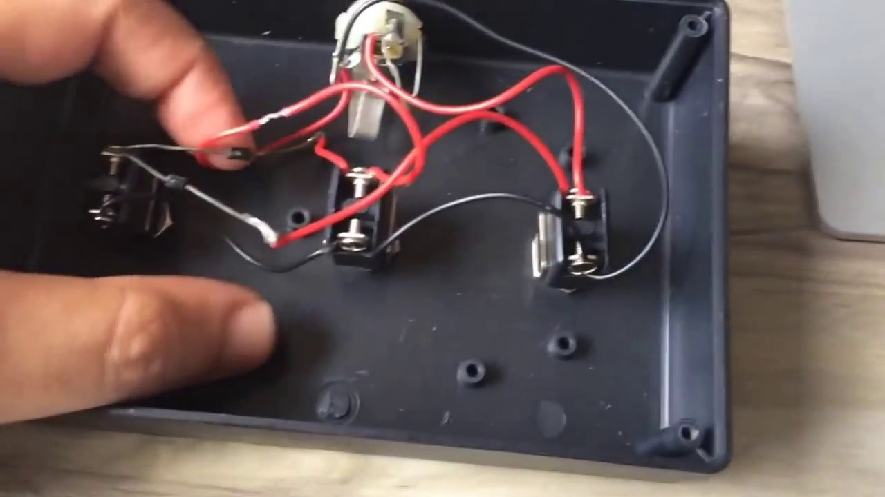How To Build Fs3x Footswitch Diy - Wiring