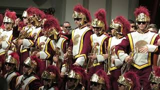 """trojancandy.com:  The USC Concert Band, Spirit of Troy, Silks and Song Girls Perform """"Heartbreaker"""""""