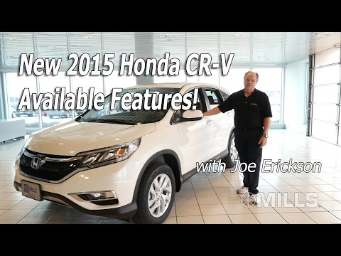 The NEW 2015 Honda CR-V Available Features