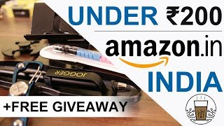 5 Cool Gadgets On Amazon India Under Rs. 200   Hindi