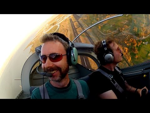 RV-7 1st flight, speaking at Google & MOVEMBER charity - Nor