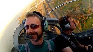 RV-7 1st flight, speaking at Google & MOVEMBER charity - NorCal - Flying (BONUS 737 sim crash)