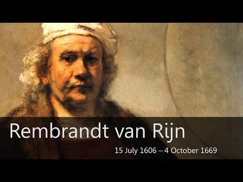 Rembrandt Biography - Goodbye-Art Academy